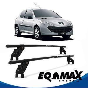 Rack Aço Teto Eqmax Peugeot 207 Hatch 2 Portas 08/15