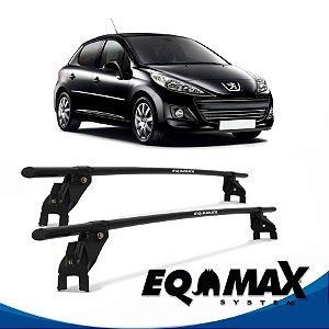 Rack Aço Teto Eqmax Peugeot 207 4 Pts 11/14 Hatch