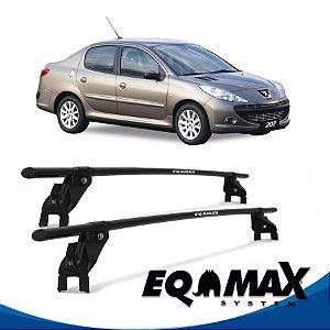 Rack Aço Teto Eqmax Peugeot 207 4 Pts 11/14 Sedan