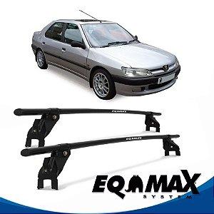 Rack Aço Teto Eqmax Peugeot 306 4 Pts 98/01 Sedan