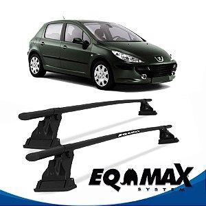 Rack Aço Teto Eqmax Peugeot 307 4 Pts 02/12