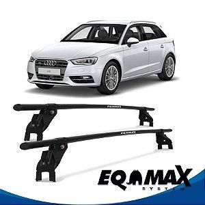 Rack Aço Teto Eqmax Audi A3 4 Pts 97/07