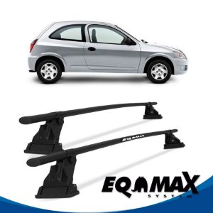 Rack Aço Teto Eqmax Chevrolet Celta 2 Portas 00/11