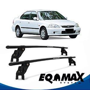 Rack Aço Eqmax Honda Civic 4 Portas 93/00