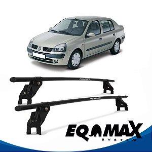 Rack Aço Eqmax Renault Clio 4 Pts 00/14 Sedan