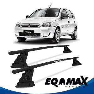 Rack Aço Teto Eqmax Chevrolet Corsa Joy 4 Pts 02/12