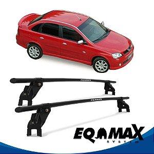 Rack Aço Teto Eqmax Chevrolet Corsa SS 4 Pts 02/12 Sedan