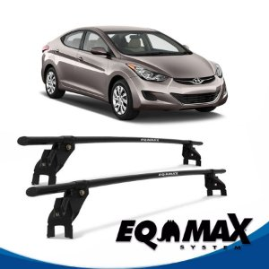 Rack Aço Teto Eqmax Hyundai Elantra 4 Pts 12/13