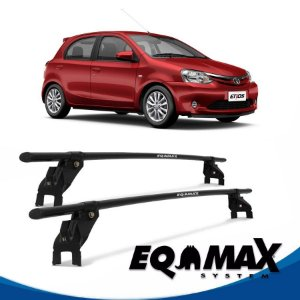 Rack Aço Teto Eqmax Toyota Etios 4 Pts 13/14 Hatch