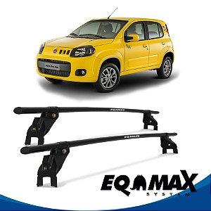 Rack Aço Teto Eqmax Fiat Uno Vivace 4 Pts 10/16