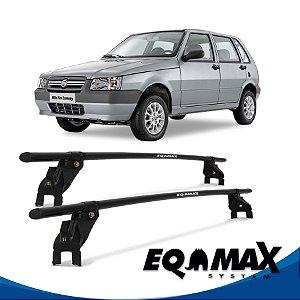 Rack Aço Teto Eqmax Fiat Uno 05/13 4 Portas