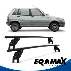 Rack Aço Teto Eqmax Fiat Uno Mille 88/04 4 Portas