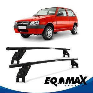 Rack Aço Teto Eqmax Fiat Uno Mille 88/04 2 Pts