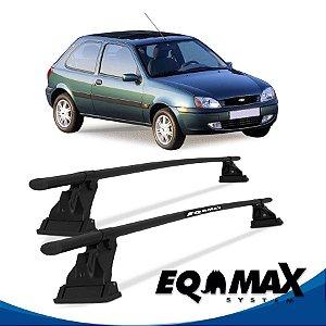 Rack Aço Teto Eqmax Ford Fiesta Street Hatch 2 Pts 96/06