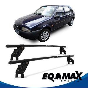 Rack Aço Teto Eqmax Ford Fiesta Street Hatch 4 Pts 96/06