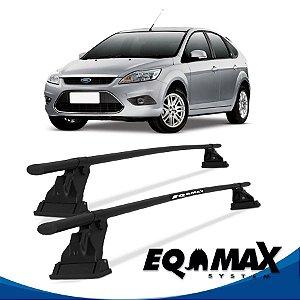Rack Aço Teto Eqmax Ford Focus 4 Pts Hatch 10/13