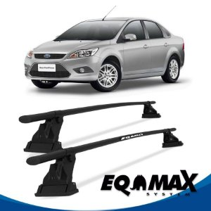 Rack de Teto de Aço Eqmax Ford Focus 4 Pts Sedan 10/13