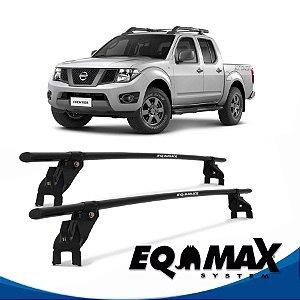 Rack Aço Teto Eqmax Nissan Frontier 4 Pts 08/13