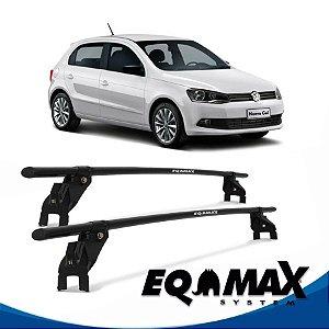 Rack Aço Teto Eqmax VW Gol g6 4 Pts 12/14 fixação na porta