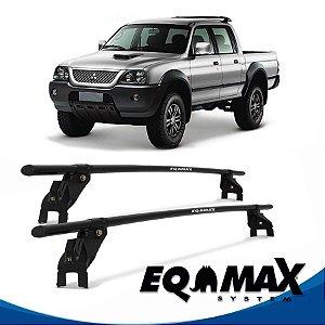 Rack Aço Teto Eqmax Mitsubishi L200 Sport 04/13