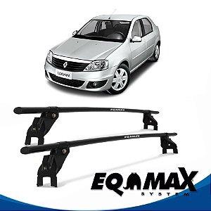 Rack Aço Teto Eqmax Renault Logan 08/13