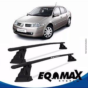 Rack Aço Teto Eqmax Renault Megane Sedan 05/11