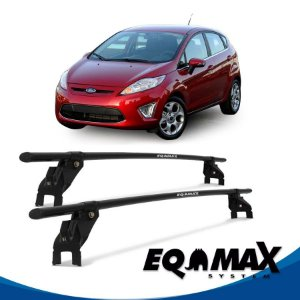 Rack Aço Teto Eqmax Ford New Fiesta Mexicano 4 Pts 11/13 Hatch