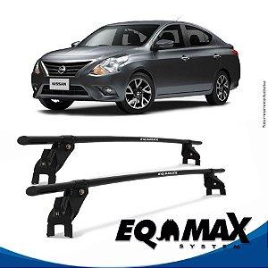 Rack Aço Teto Eqmax Nissan Versa 15/16