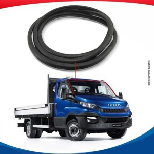Borracha Superior e Lateral Parabrisa Iveco Daily Pick-Up 08/16