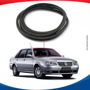 Borracha Parabrisa Volkswagen Santana 98/05