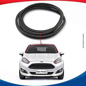 Borracha Superior e Lateral Parabrisa Ford New Fiesta 12/16