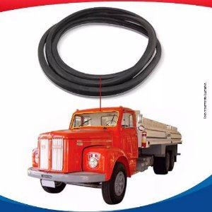 Borracha Parabrisa Scania L110 67/81