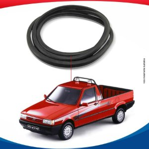 Borracha Com Esponja Parabrisa Fiat Fiorino Pick-Up 91/13