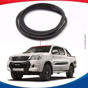 Borracha Superior Parabrisa Toyota Hilux 05/15