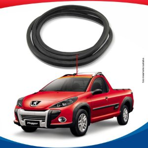 Borracha Superior Parabrisa Peugeot Hoggar 10/16