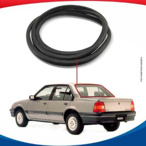 Borracha Vidro Vigia Chevrolet Monza 4pts  82/96