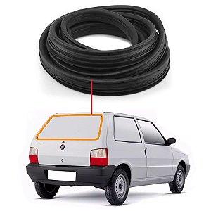 Borracha Com Esponja Vidro Traseiro Vigia Fiat Uno 84/10