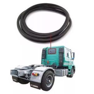 Borracha Vidro Traseiro Vigia Scania T 112 80/00