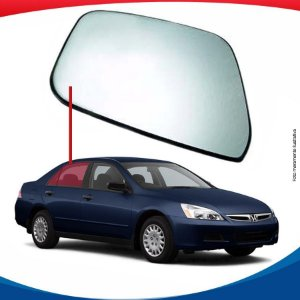Vidro de porta traseiro direito Honda Accord 03/07