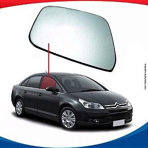 Vidro de porta dianteiro direito Citroën C4 Pallas sedan
