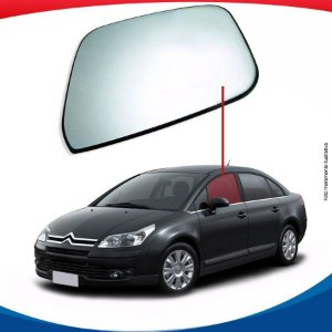 Vidro de porta dianteiro esquerdo Citroën C4 Pallas sedan