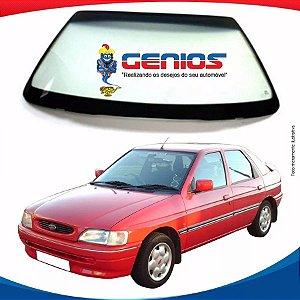 Parabrisa Ford Escort 93/98 Vidro Dianteiro Com Alarme Menedin