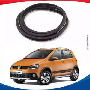 Borracha Inferior Parabrisa Para Vw Cross Fox