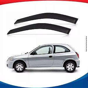 Calha Chuva Chevrolet Gm Celta 2000 2 Portas