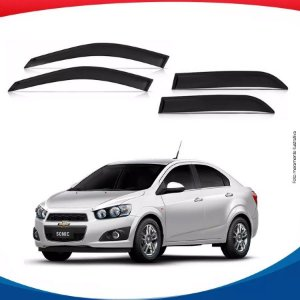 Calha Chevrolet Sonic Sedan 4 Portas