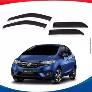 Calha Chuva Honda Fit New 15/...