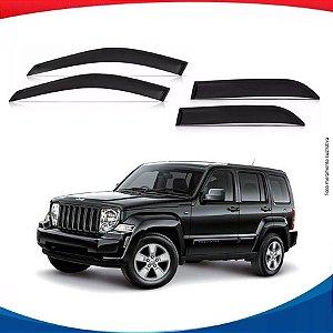 Calha de Chuva Jeep Cherokee Sport 4 Portas  08/14