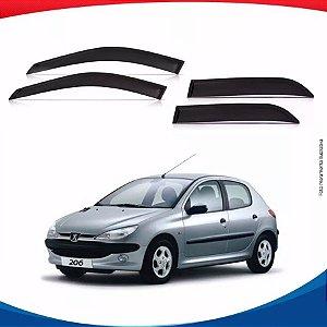 Calha De Chuva Peugeot 206 4 Portas .../00