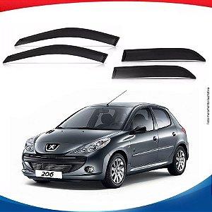 Calha de Chuva Peugeot 206 Hatch 4 Portas 00/...