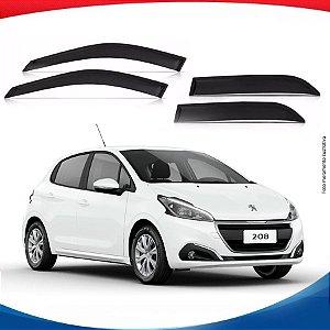 Calha de Chuva Peugeot 208 Hatch 4 Portas 12/...